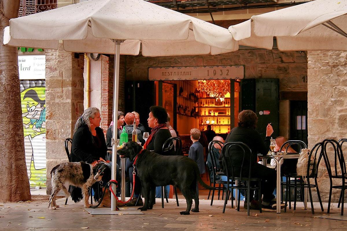 Dining in Barcelona